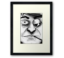 Rogues Gallery - Penguin Framed Print