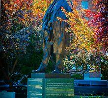 Tomas Garrigue Masaryk Statue by Ashley Hirst