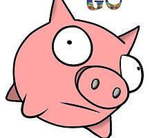 go little pig ! by RamsesXll