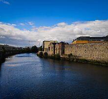 River in Dublin, Ireland by Ashley Hirst