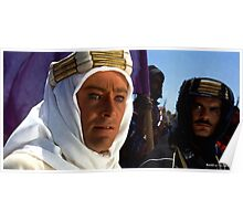 """Peter O'Toole & Omar Sharif @ """"Lawrence of Arabia"""" Poster"""