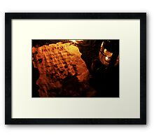 Firestarter (a page from the book of shadows) Framed Print