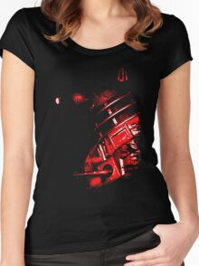 Dalek Beta – Red Women's Fitted Scoop T-Shirt