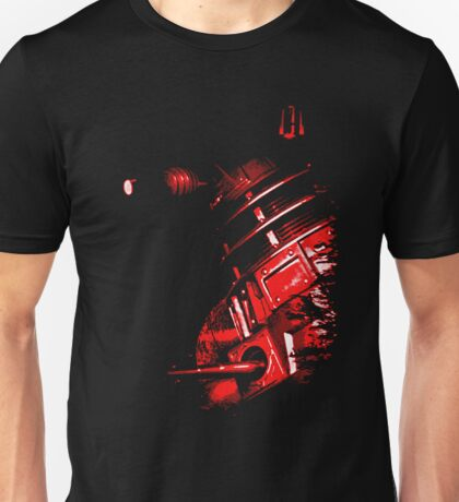 Dalek Beta – Red Unisex T-Shirt