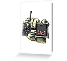 Zombie NES Greeting Card