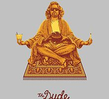 The Dude Budha The Big Lebowski by zamora