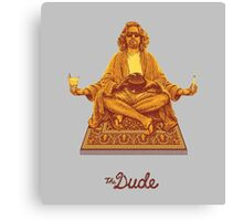 The Dude Budha The Big Lebowski Canvas Print