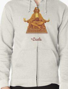 The Dude Budha The Big Lebowski Zipped Hoodie