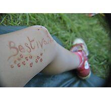 Bestival Photographic Print
