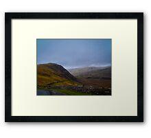 Ireland Hills Framed Print