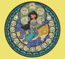 Jasmine glass window by RomanaC
