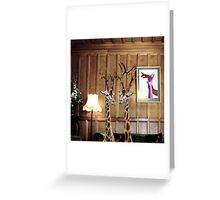 Living Room Greeting Card