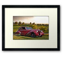 1947 Delahaye 135M Pennock Cabriolet III Framed Print