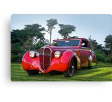 1947 Delahaye 135M Pennock Cabriolet II Canvas Print