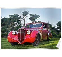 1947 Delahaye 135M Pennock Cabriolet II Poster