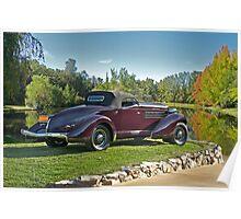1936 Auburn 'Boat Tail' Speedster II Poster
