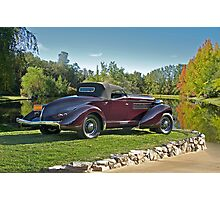 1936 Auburn 'Boat Tail' Speedster II Photographic Print