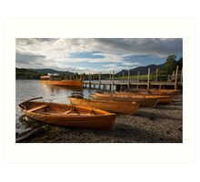 Derwent Water Art Print