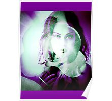 6547p Orchid Goddess Poster