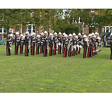 Royal marines freedom of Littlehampton Photographic Print