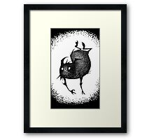 Sketch Gremlin Framed Print