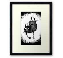 Sketch Gremlin Framed Print