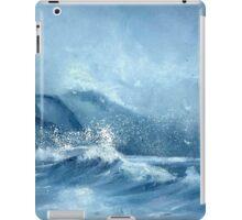 The Raging Sea iPad Case/Skin