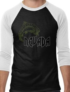 FISH NEVADA VINTAGE LOGO Men's Baseball ¾ T-Shirt