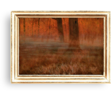 Early Morning in Georgia ... with a canvas and framed look Canvas Print