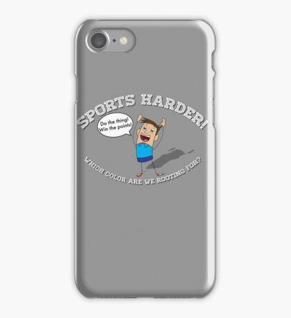 Sports Harder iPhone Case/Skin