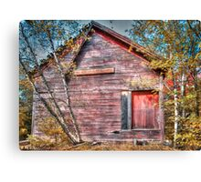 Once to Build Canvas Print