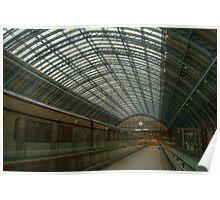 St Pancras International Station Poster