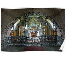 Italian Chapel, Orkney Poster