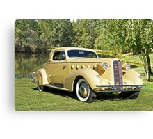 1934 LaSalle 'Rumble Seat' Coupe II Canvas Print