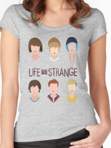 life is strange Women's Fitted Scoop T-Shirt
