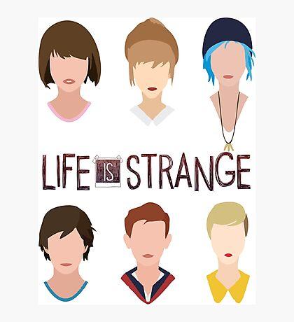 life is strange Photographic Print