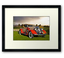 1934 Chrysler Roadster II Framed Print