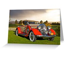 1934 Chrysler Roadster II Greeting Card