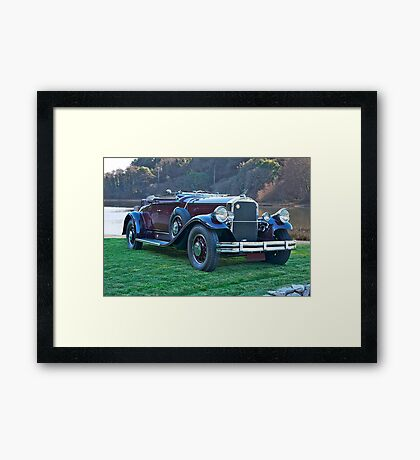 1930 Pierce-Arrow B Roadster II Framed Print