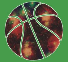Basketball Galaxy Baby Tee