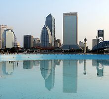 Skyline Reflections by Carol Bailey White