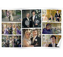John and Mary Watson's Wedding Sherlock BBC   Poster