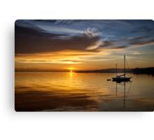 Port Angeles Sunrise Canvas Print