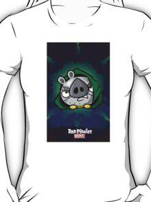 Bad Piggies and Marvel villain mashup Dr Doom T-Shirt