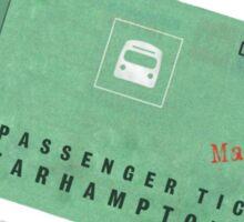 One Ticket to Farhampton Sticker