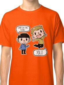 Star Trek - Spock and Kirk Classic T-Shirt