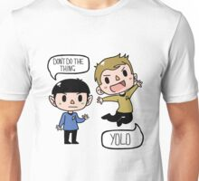 Star Trek - Spock and Kirk Unisex T-Shirt
