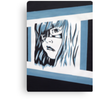 Unknown Character - Painting Canvas Print