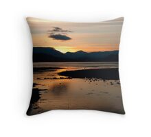Rannoch Moor Sunset Throw Pillow
