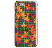 Leafy Tartan iPhone Case/Skin